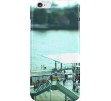 Hamburg Landungsbrücken -Tiltshift (7) iPhone Case/Skin