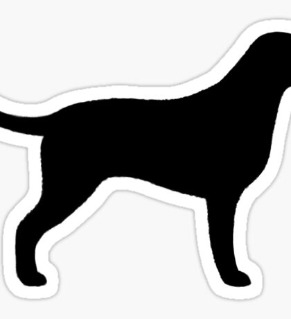 Curly Coated Retriever Silhouette(s) Sticker