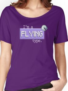 Flying Type - PKMN Women's Relaxed Fit T-Shirt