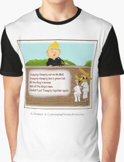 Trumpty-Dumpty Sat on a Wall Graphic T-Shirt