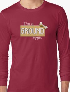 Ground Type - PKMN Long Sleeve T-Shirt