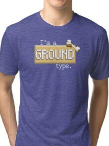 Ground Type - PKMN Tri-blend T-Shirt