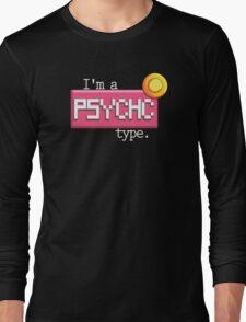 Psychic type - PKMN Long Sleeve T-Shirt