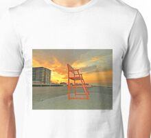 LONG BEACH, NY SUMMER SUNRISE Unisex T-Shirt