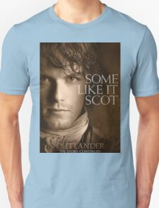Jamie Fraser  Outlander Cover Some like It Scot Unisex T-Shirt