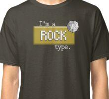 Rock type - PKMN Classic T-Shirt