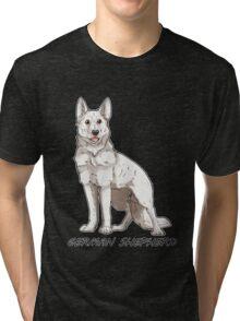 Shepherd Love -White Tri-blend T-Shirt