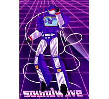 Soundwave Aesthetic Photographic Print