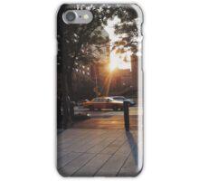Sunrise drive by iPhone Case/Skin