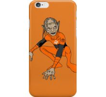 Orange Lantern Gollum iPhone Case/Skin