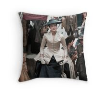 Claire Fraser - Outlander - The Bar Suit Throw Pillow