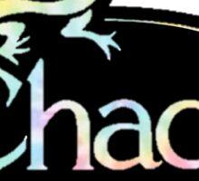 chacos logo tie dye Sticker