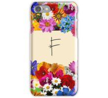F iPhone Case/Skin