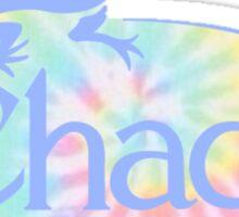 chaco tie dye Sticker