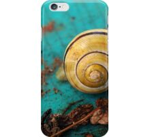 Yellow Snail House iPhone Case/Skin