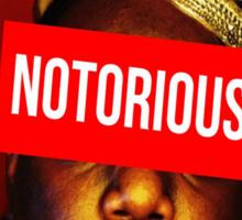 "Biggie ""Notorious King"" Supreme  Sticker"
