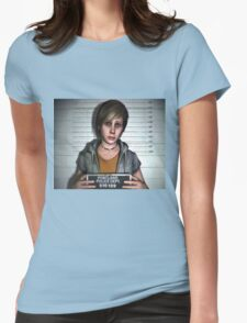 Silent Hill - Heather Mason Womens Fitted T-Shirt