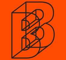 The Letter B Kids Tee