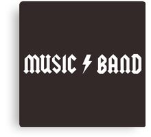 Music Band Canvas Print