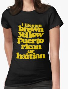 phife dawg Womens Fitted T-Shirt