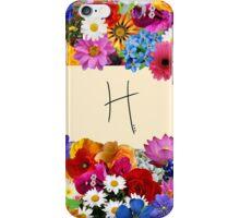 H iPhone Case/Skin