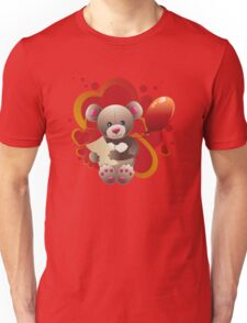 Teddy Bear with Heart 3 Unisex T-Shirt