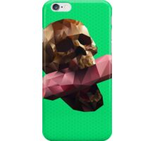 Poison Polygon Lime iPhone Case/Skin