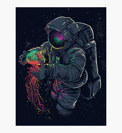 Space Fun Photographic Print
