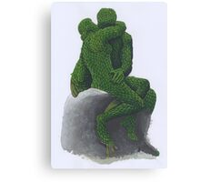The Kiss Topiary 2012 Canvas Print