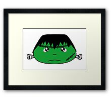 Frankenstein monster - Halloween collection Framed Print
