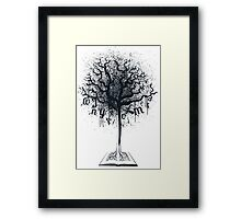Book of Life Tree Framed Print