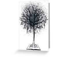 Book of Life Tree Greeting Card