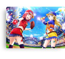 Baseball Maki Nishikino (Idolized) Canvas Print