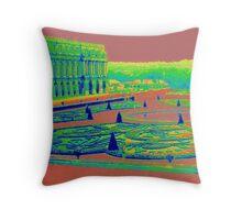 Versaille Palace and Garden Throw Pillow