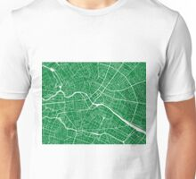 Berlin Map - Green Unisex T-Shirt