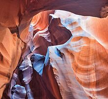 Antelope Canyon in Page by Tod and Cynthia Grubbs