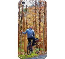 Autumn ride iPhone Case/Skin