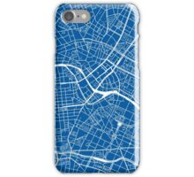 Berlin Map - Deep Blue iPhone Case/Skin