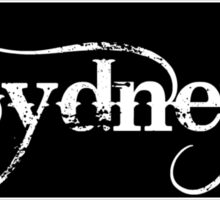 Sydney - Sticker Sticker
