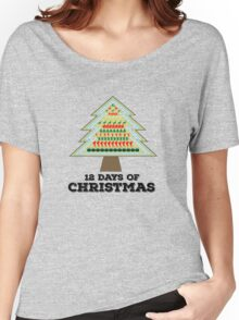 12 Days of Christmas Women's Relaxed Fit T-Shirt