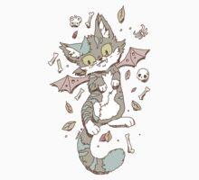 Monster Cat Kids Tee