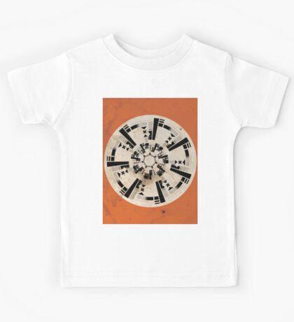 Abstract Location Kids Tee