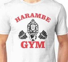 Harambe Gym Unisex T-Shirt