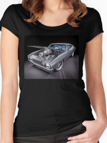 Jim Ayoubi Ford Falcon Coupe Women's Fitted Scoop T-Shirt
