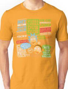Wubba Lubba Dub dub !! Unisex T-Shirt