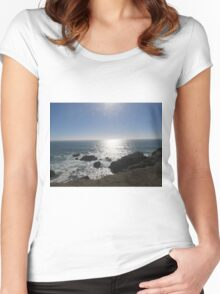 Ocean Reflection Women's Fitted Scoop T-Shirt