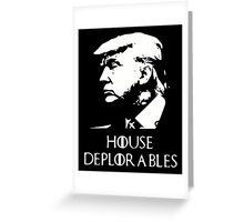 Deplorables Trump Greeting Card