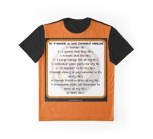 10 things MG Graphic T-Shirt