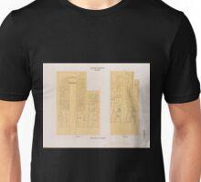 0093 Altes Reich Dynastie IV ff Pyramiden von Saqara Saqqârah a Grab 5 b Grab 10 Unisex T-Shirt