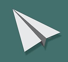 Paper Airplane 4 by YoPedro